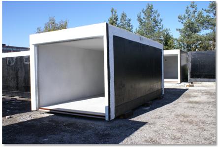 garaż betonowy gotowy